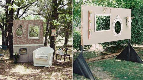 diy mariage  idees pour faire  photobooth original