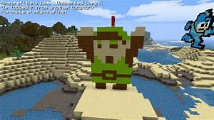 Minecraft Pixel Art Link by Kamiye12 on DeviantArt