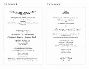 Sample of wedding invitation cards wording xzprkkx4b for Sample wedding invitations pdf