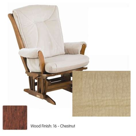 Dutailier Nursing Chair Replacement Cushions by Dutailier Sleigh 912 Series Grand Glider Multiposition