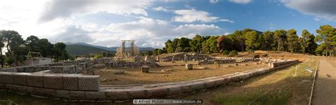 Ruins of Asclepieion photo. Epidaurus, Delphi, Peloponnese ...
