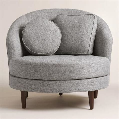 gray seren chair and a half world market