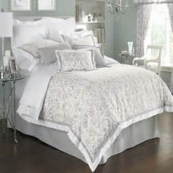 gray white comforter set home styling pinterest purple guest rooms and dark purple walls