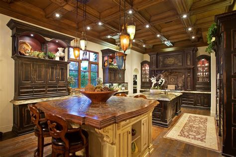 tuscan kitchen islands luxury tuscan style house interior exterior pictures 2981