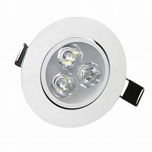 W angle adjustment recessed spotlight led ceiling downlight