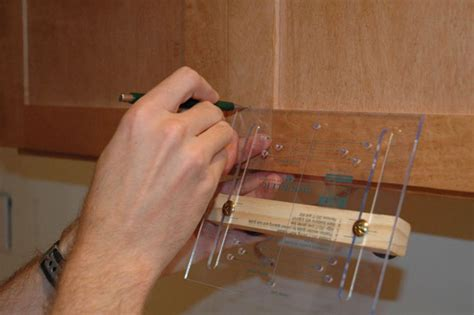 template for installing cabinet handles how to install cabinet door hardware how tos diy