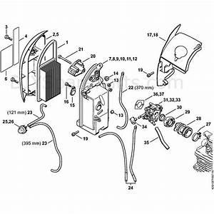 Stihl Br 700 Backpack Blower  Br 700  Parts Diagram  D Air