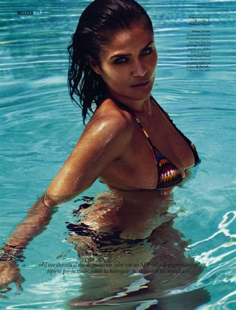 helena christensen  elle spain   fab fashion fix