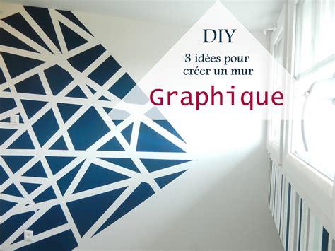 chambre a coucher en noir et blanc diy 3 idées pour créer un mur graphique mon carnet déco