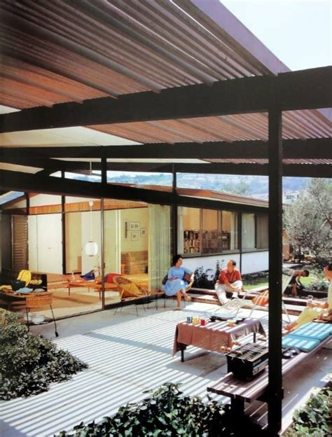 mid century modern outdoor space looks great but is it
