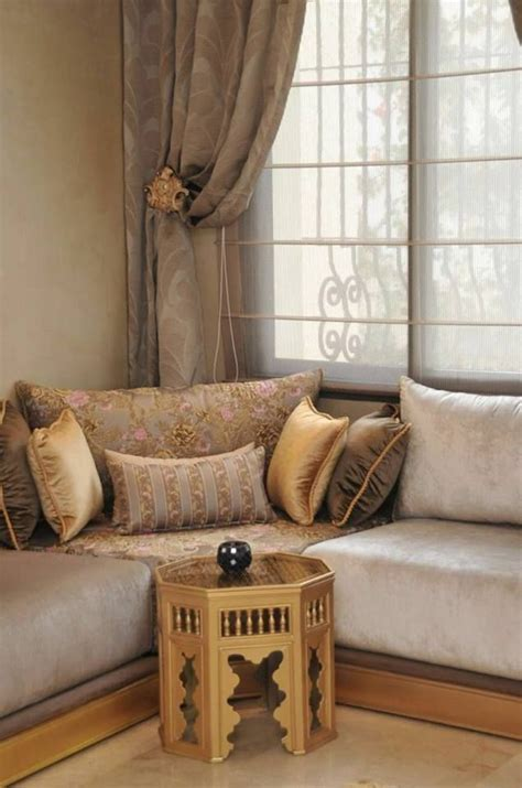interieur sur mesure en  salon marocain salon