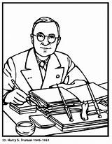 Coloring Pages President Presidents Printable Served American Roosevelt Popular Truman Harry 1884 Politician Assuming Upon December Office Library Clipart Getcolorings sketch template