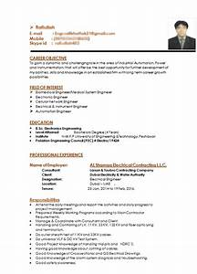 Power System Engineer Resume Electronics Engineer Get A Free Cv