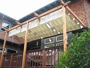 Retractable, Home, Made, Sunshade