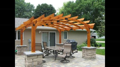 decoracion de jardines  pergolas youtube
