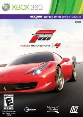 Xbox Racing Games Forza Motorsport 4 Wikipedia