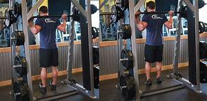 Smith Machine Reverse Calf Raises To Develop Calves  The
