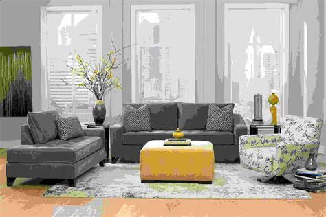 Decoration Salon En Gris D 233 Coration Int 233 Rieur La Combinaison Gris Et Jaune Le
