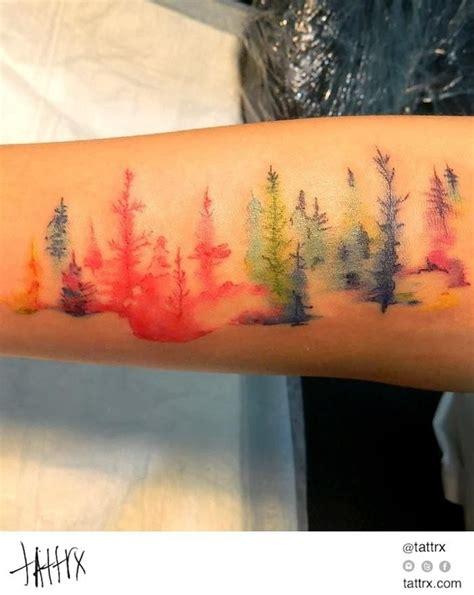 artistic watercolor tattoo designs  men