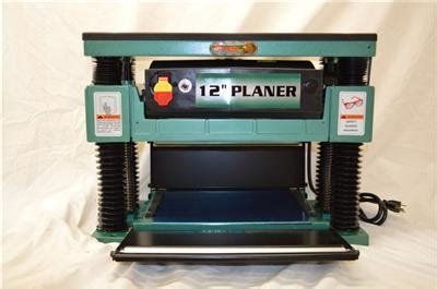 grizzly industrial   portable wood planer model