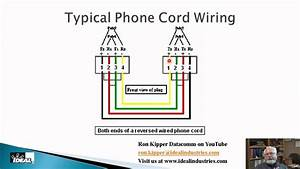 Analog Phone Cord Wiring Diagram