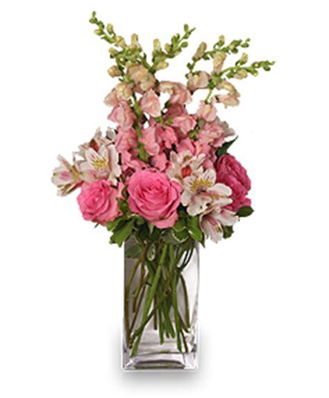 think pink bouquet in adrian mi barrett s flower gardens