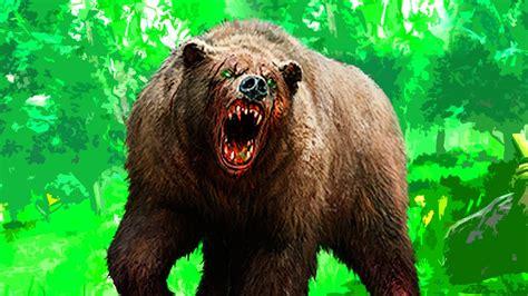incredible zombie bear strength  days  die  youtube