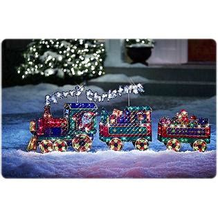 product works holographic merry christmas train