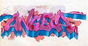 Pin Angie Nombre Graffiti Ajilbabcom Portal on Pinterest