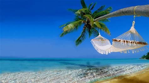 Wallpaper Tropical beach, Ocean, Hawaii, Coast, 4K, Nature, #5336