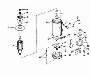 Johnson Electric Starter  U0026 Solenoid Prestolite Models Mgd