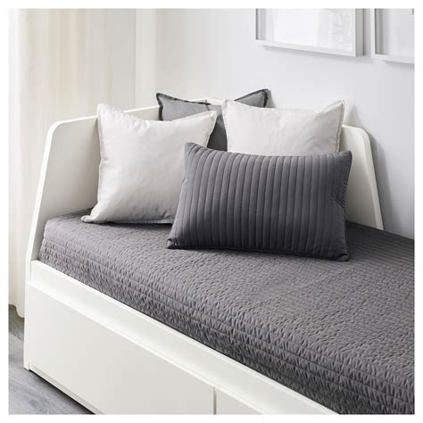 26869 ikea guest bed flekke day bed frame with 2 drawers white 80x200 cm ikea