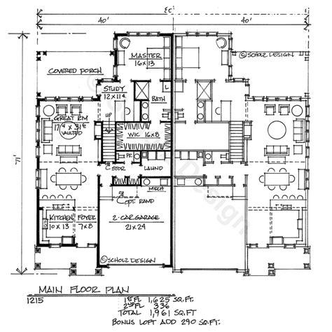 family house floor plans pictures multi family house home floor plans design basics