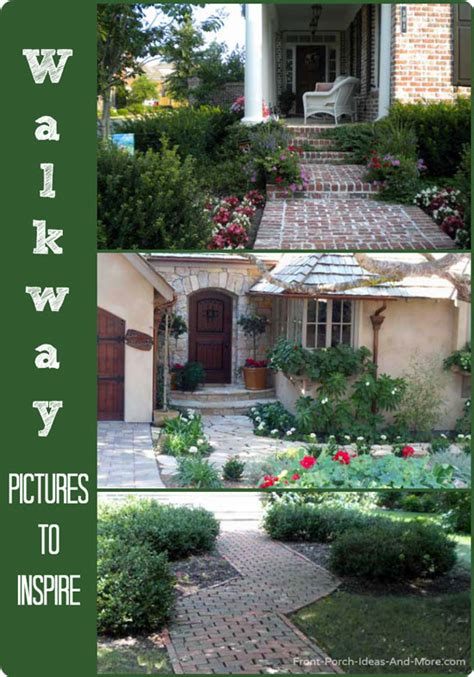 walkway ideas  create exquisite curb appeal