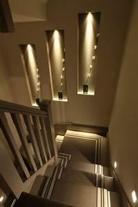 Indirekte Beleuchtung Treppe : 50 bilder und ideen f r treppenaufgang gestalten treppe einrichtungsideen f r stufen ~ Pilothousefishingboats.com Haus und Dekorationen