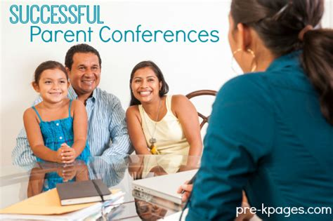printable parent conference forms and handbook 608 | successful parent conferences