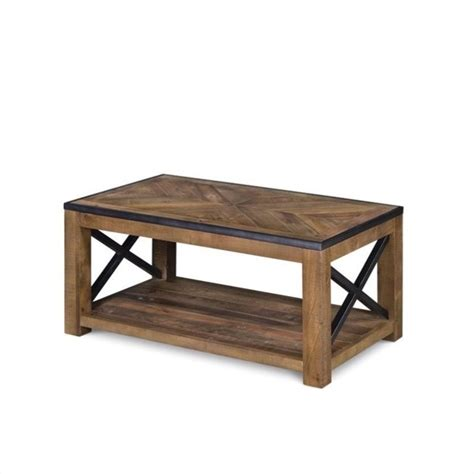 Magnussen Penderton Wood Small Rectangular Coffee Table In