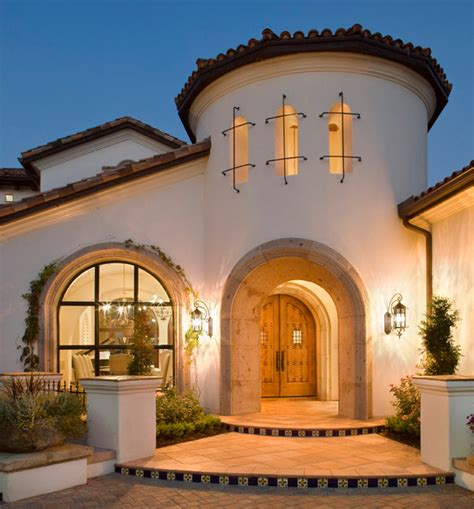 Spanish Colonial Style House Plans