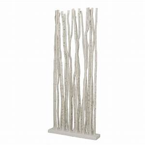 Separation Piece En Bois : paravent en bois flott bois de mangrove blanchi 4252 ~ Teatrodelosmanantiales.com Idées de Décoration