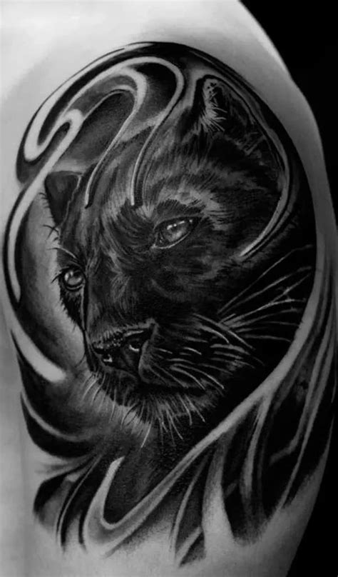 100+ Panther Tattoos | Black panther tattoo, Jaguar tattoo