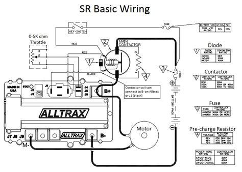 Club Car Controller Diagram by Alltrax Wiring Diagram Wiring Diagram