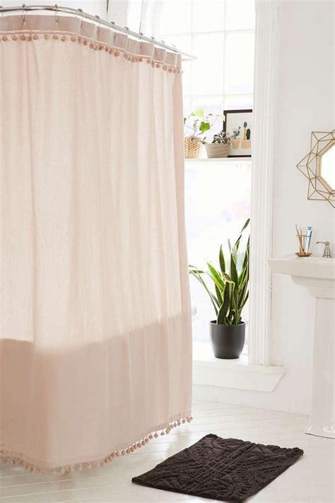 pink shower curtains ideas  pinterest pink