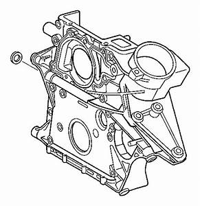 Dodge Sprinter 3500 Engine Timing Cover  Front   Sprinter