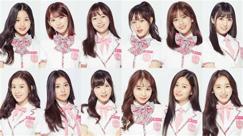 Check Out The Final Top 12 Of 'produce 48' New Project