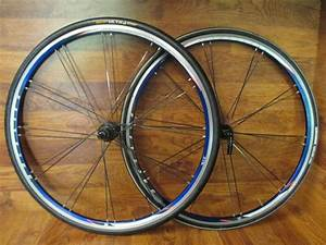 Bontrager Race Lite Bladed Paired 700c Shimano Hub Blue
