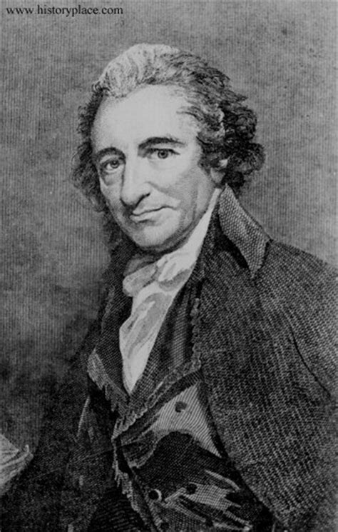 thomas paine king the history place american revolution conflict and