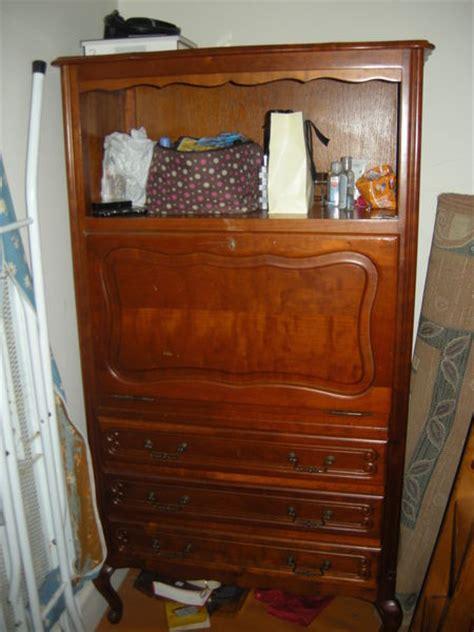 meuble bureau secretaire meuble secretaire ancien clasf