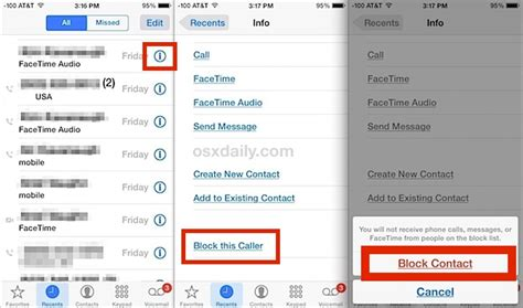 how to block texts on iphone how to block contacts from calling your iphone