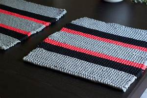 Set De Table Au Crochet : diy tricoter des sets de table en trapilho ~ Melissatoandfro.com Idées de Décoration