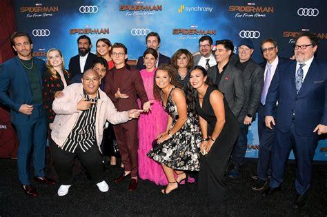 main cast  filmmakers  spider man   home